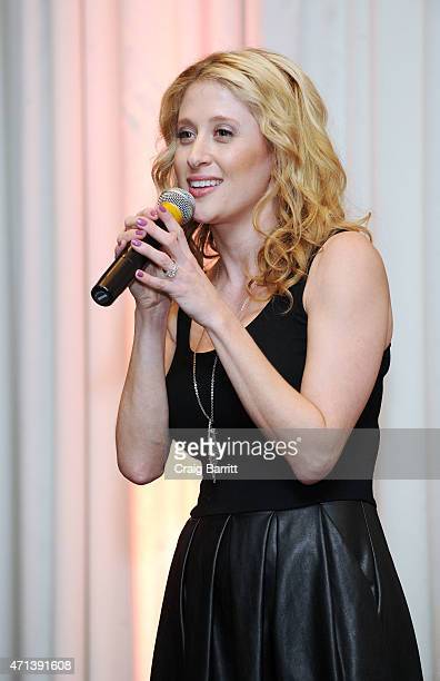 Caissie Levy attends the TrevorLIVE KickOff Party at The Eventi Hotel on April 27 2015 in New York City