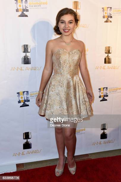 Caitlin Carmichael attends the 44th Annual Annie Awards at Royce Hall on February 4 2017 in Los Angeles California
