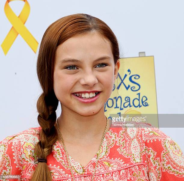 Caitlin Carmichael attends the 5th annual 'LA Loves Alex's Lemonade' annual fundraiser at Wilson Plaza UCLA on September 20 2014 in Westwood...