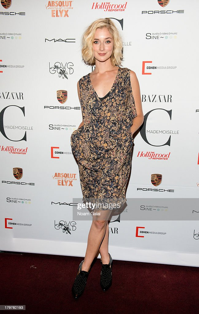 Caitlin Fitzgerald attends 'Mademoiselle C' New York Premiere at Florence Gould Hall on September 6, 2013 in New York City.