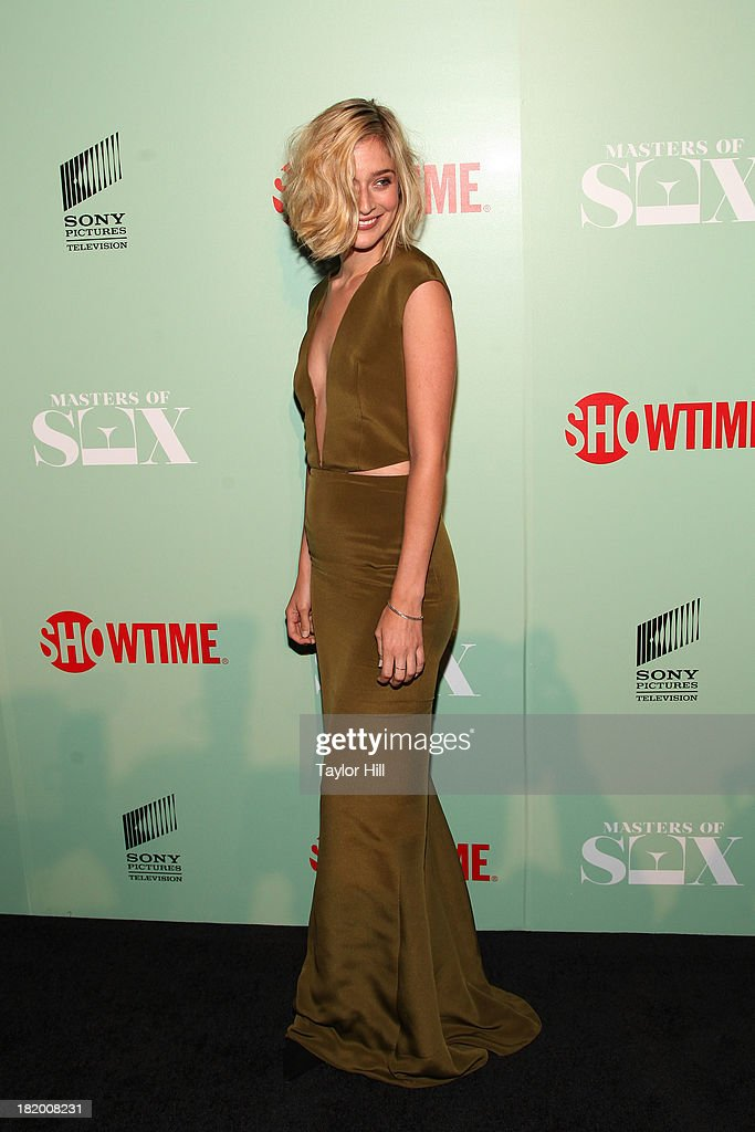 Caitlin Fitzgerald attends 'Masters Of Sex' New York Series Premiere at The Morgan Library & Museum on September 26, 2013 in New York City.