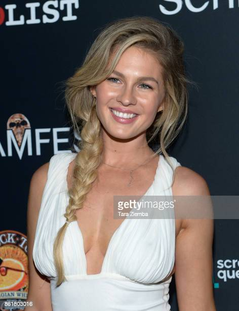 Caitlin Manley attends the 2017 Screamfest Horror Film Festival at TCL Chinese 6 Theatres on October 15 2017 in Hollywood California