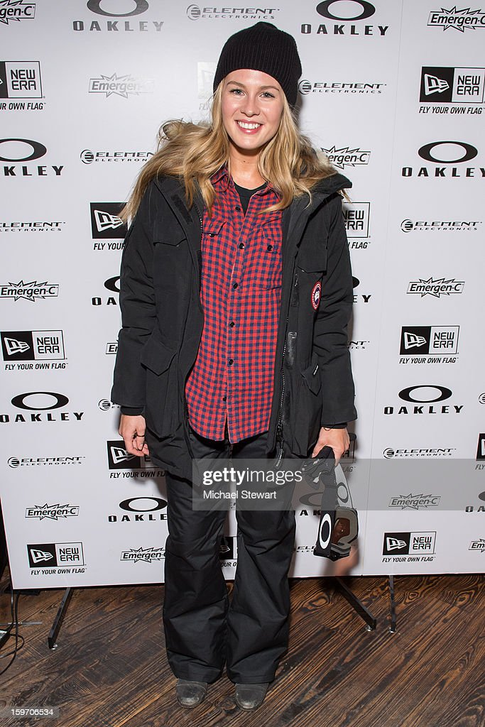 Caitlin Manley McCassy attends Oakley Learn To Ride In Collaboration With New Era - Day 1 - 2013 Park City on January 18, 2013 in Park City, Utah.