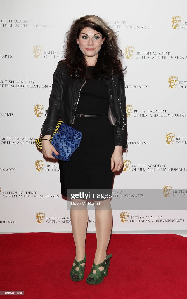 Caitlin Moran arrives at the British Academy Children's Awards at the London Hilton on November 25, 2012 in London, England.