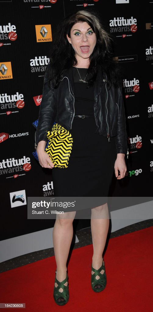 Caitlin Moran attends the Attitude Magazine Awards at One Mayfair on October 16, 2012 in London, England.