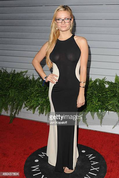 Caitlin O'Connor arrives at the MAXIM Hot 100 Celebration Event at Pacific Design Center on June 10 2014 in West Hollywood California