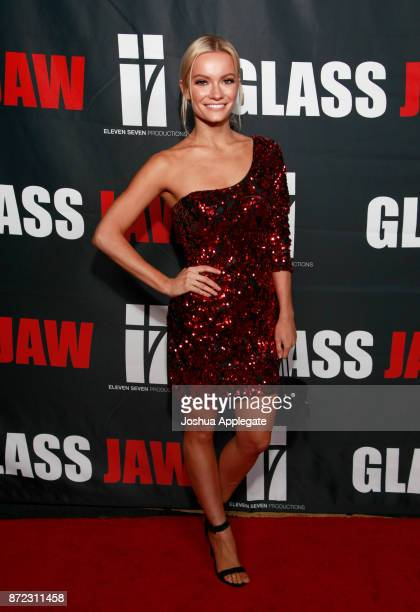 Caitlin O'Connor at the premiere of 'Glass Jaw' at Universal Studios Hollywood on November 9 2017 in Universal City California