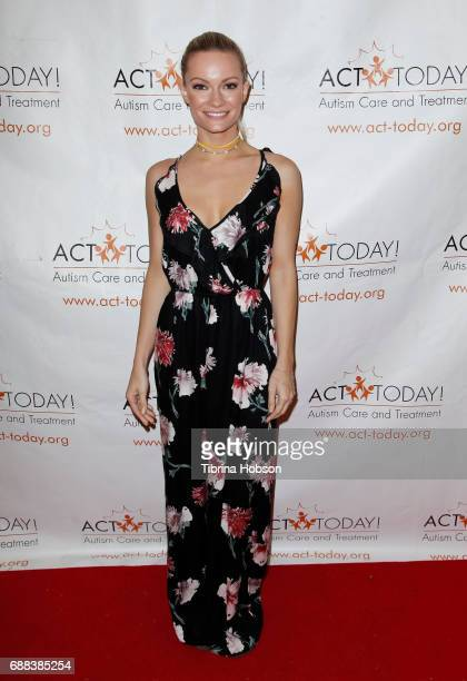 Caitlin O'Connor attends the Facebook live event for ACT Today hosted by Corey Feldman and Courtney Feldman on May 24 2017 in Los Angeles California