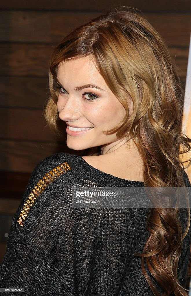 Caitlin O'Connor attends the 'Freeloaders' premiere held at Sundance Cinema on January 7 2013 in Los Angeles California