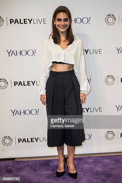 Caitlin Stasey attends the Paley Center for Media on October 22 2015 in Beverly Hills California