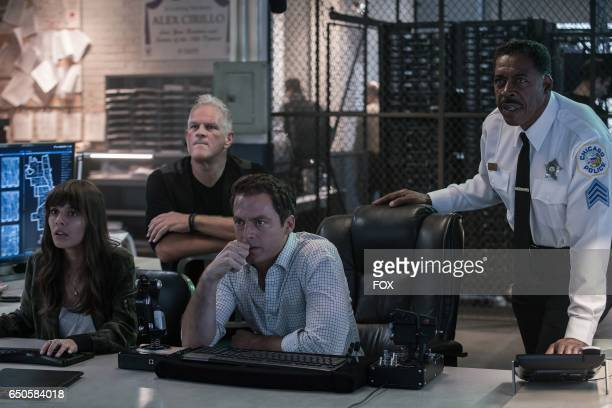 Caitlin Stasey guest star Abraham Benrubi Justin Kirk and Ernie Hudson in the allnew 'Personal Matters' episode of APB airing Monday Feb 13 on FOX