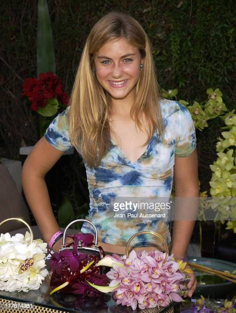 Caitlin Wachs at RJ Design during The Silver Spoon Beauty Buffet Sponsored By Allure Day Two at Private Residence in Los Angeles California United...