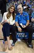 Celebrities At The UCLA V Cincinnati Basketball Game
