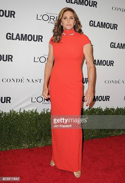Caitlyn Jenner arrives at Glamour Women Of The Year 2016 at NeueHouse Hollywood on November 14 2016 in Los Angeles California