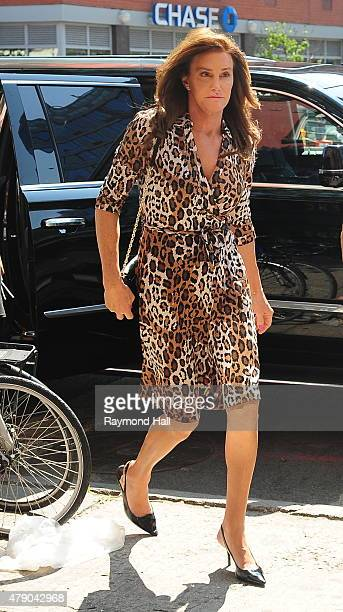 Caitlyn Jenner arrives at Patrica Field store in Soho on June 30 2015 in New York City