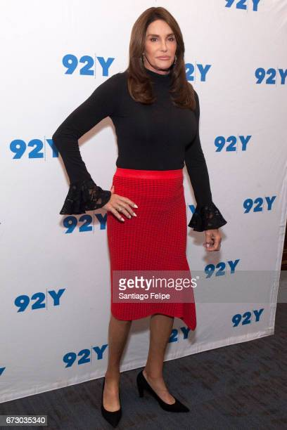 Caitlyn Jenner attends a conversation on transgender Identity and courage at 92nd Street Y on April 25 2017 in New York City