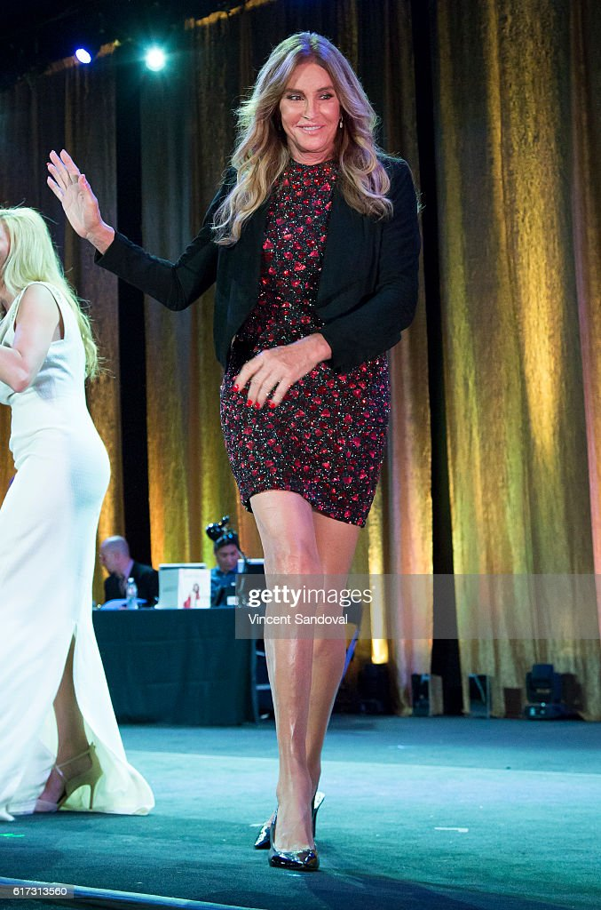 Caitlyn Jenner attends the 15th Annual Queen USA Transgender Beauty Pageant at The Theatre at Ace Hotel on October 22, 2016 in Los Angeles, California.