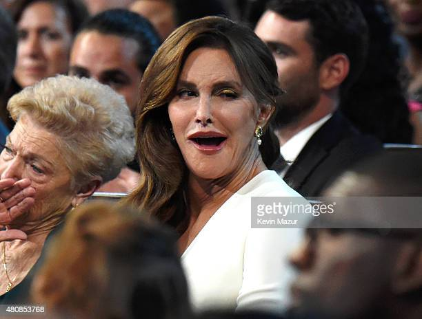 Caitlyn Jenner attends The 2015 ESPYS at Microsoft Theater on July 15 2015 in Los Angeles California