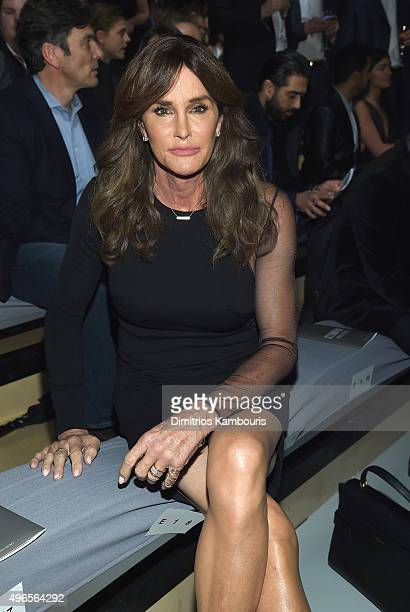Caitlyn Jenner attends the 2015 Victoria's Secret Fashion Show at Lexington Avenue Armory on November 10 2015 in New York City