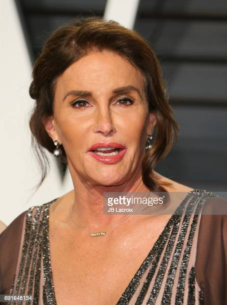 Caitlyn Jenner attends the 2017 Vanity Fair Oscar Party hosted by Graydon Carter at Wallis Annenberg Center for the Performing Arts on February 26...