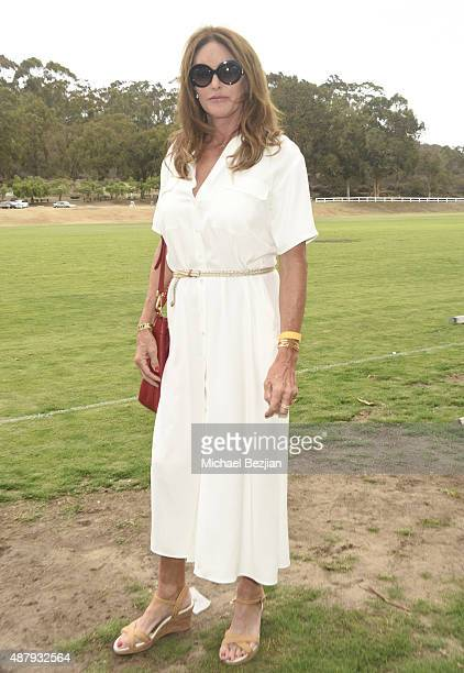 Caitlyn Jenner attends the 8th Annual Safety Harbor Kids Polo Classic Fundraiser at Will Rogers State Historic Park on September 12 2015 in Pacific...