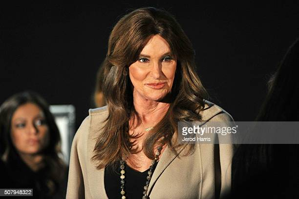 Caitlyn Jenner attends the AOL MAKERS Conference at Terranea Resort on February 1 2016 in Rancho Palos Verdes California