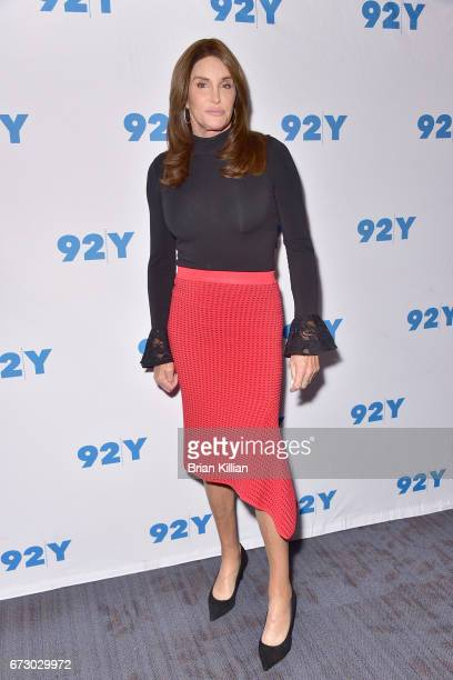 Caitlyn Jenner attends the Caitlyn Jenner Jennifer Finney Boylan On Transgender Identity And Courage event at the 92nd Street Y on April 25 2017 in...