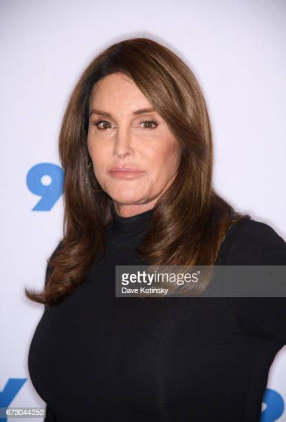 Caitlyn Jenner attends the Transgender Identity and Courage event with Jennifer Finney Boylan at the 92nd Street Y on April 25 2017 in New York City
