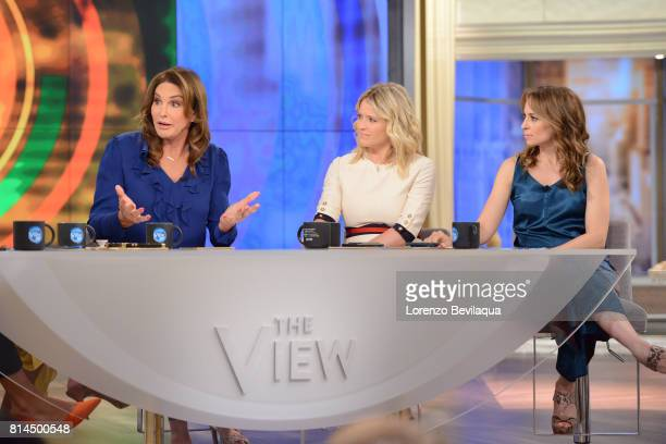 THE VIEW Caitlyn Jenner guest cohosts and Mischa Barton is the guest today Friday July 14 2017 on ABC's 'The View' 'The View' airs MondayFriday on...