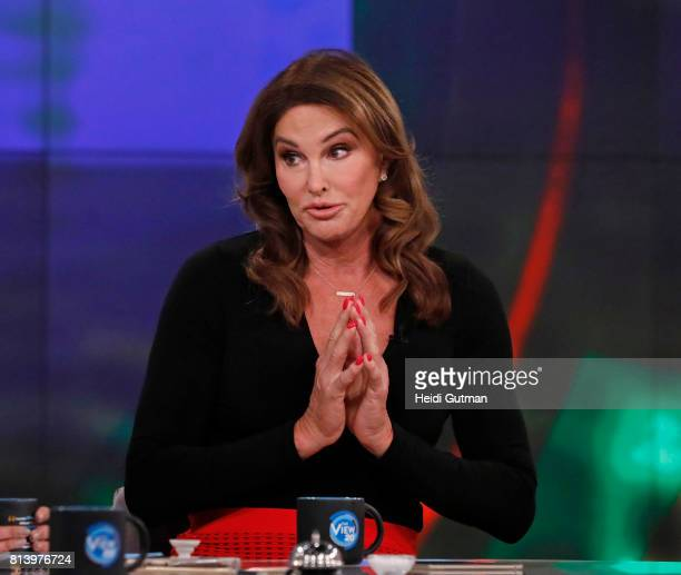 THE VIEW Caitlyn Jenner guest cohosts today Thursday July 13 2017 on ABC's 'The View' 'The View' airs MondayFriday on the ABC Television Network...