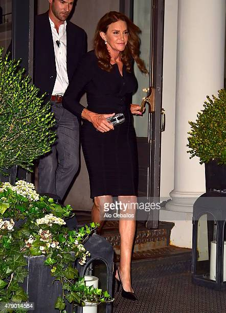 Caitlyn Jenner is seen in Tribeca on June 29 2015 in New York City