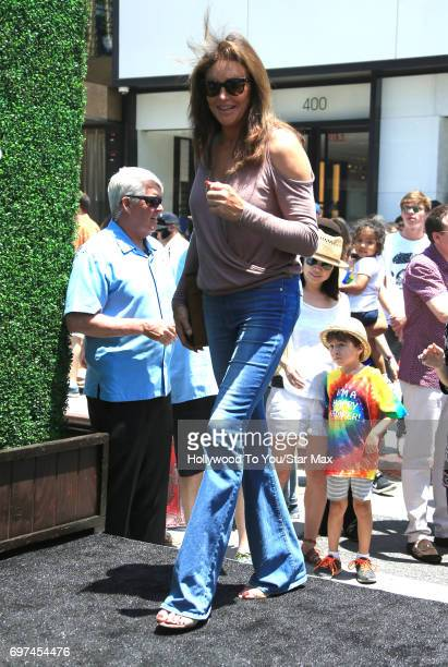 Caitlyn Jenner is seen on June 18 2017 in Los Angeles CA