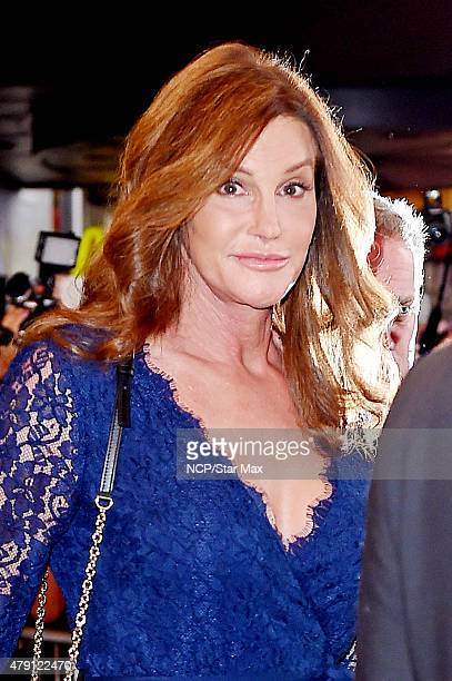 Caitlyn Jenner is seen on June 30 2015 in New York City