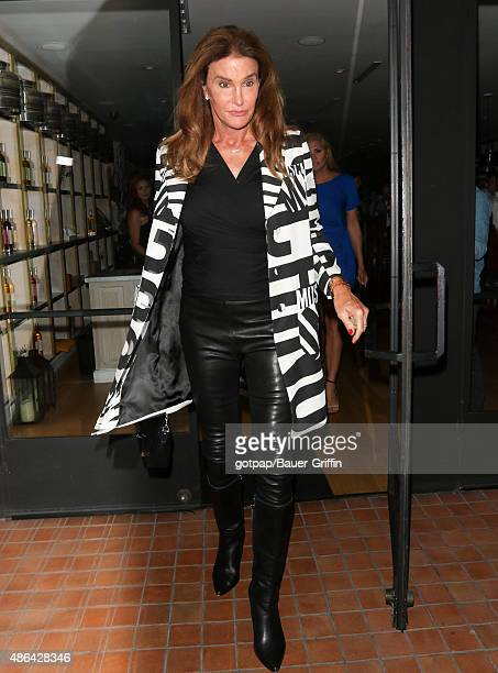Caitlyn Jenner is seen on September 03 2015 in Los Angeles California