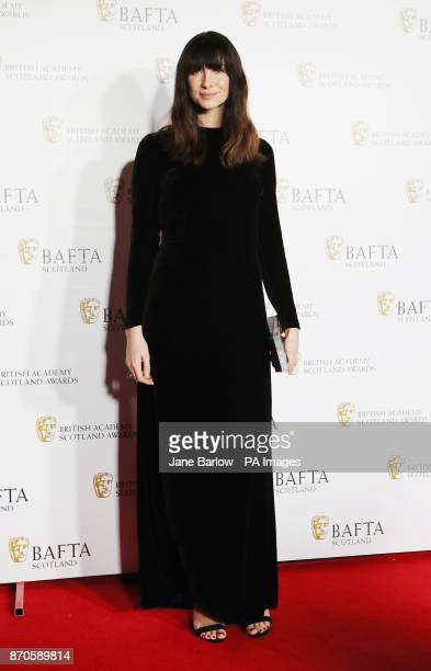 Caitriona Balfe arriving for the British Academy Scottish Awards at the Radisson Blu Hotel in Glasgow