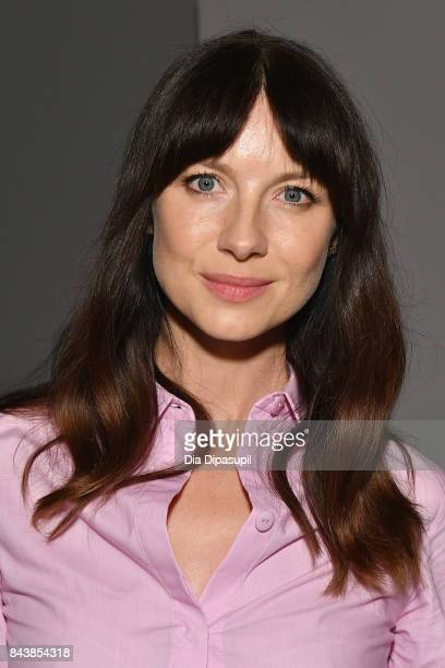 Caitriona Balfe attends Noon By Noor fashion show during New York Fashion Week The Shows at Gallery 3 Skylight Clarkson Sq on September 7 2017 in New...