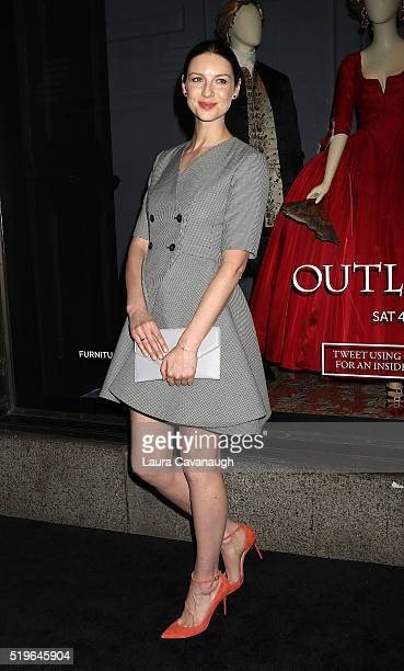 Caitriona Balfe attends 'Outlander' and Saks Fifth Avenue Photocall at Saks Fifth Avenue on April 7 2016 in New York City