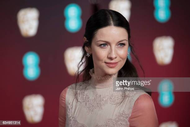 Caitriona Balfe attends the 70th EE British Academy Film Awards at Royal Albert Hall on February 12 2017 in London England