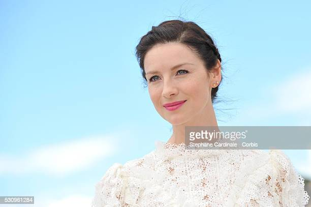 Caitriona Balfe attends the 'Money Monster' photocall during the 69th annual Cannes Film Festival at the Palais des Festivals on May 12 2016 in...