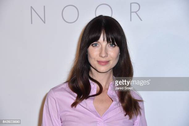 Caitriona Balfe attends the Noon By Noor show during September 2017 New York Fashion Week Shows at Gallery 3 Skylight Clarkson Sq on September 7 2017...