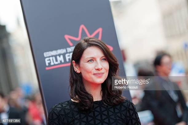 Caitriona Balfe attends the Opening Night Gala and World Premiere of 'The Legend of Barney Thomson' during the Edinburgh International Film Festival...