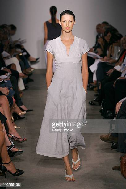 Caitriona Balfe wearing Narciso Rodriguez Spring 2006