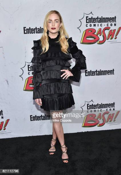 Caity Lotz at Entertainment Weekly's annual ComicCon party in celebration of ComicCon 2017 at Float at Hard Rock Hotel San Diego on July 22 2017 in...