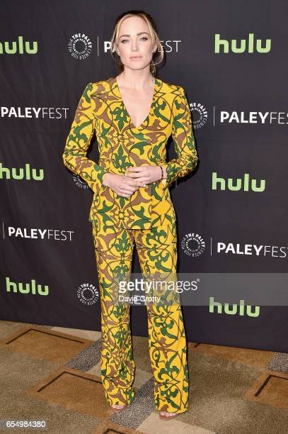 Caity Lotz attends PaleyFest Los Angeles 2017 CW's 'Heroes Aliens Featuring Arrow The Flash Supergirl and DC's Legends of Tomorrow' at Dolby Theatre...