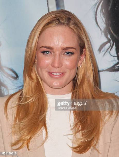 Caity Lotz attends the screening of Broad Green Pictures 'Last Days In The Desert' at Laemmle Royal Theatre on May 12 2016 in Santa Monica California
