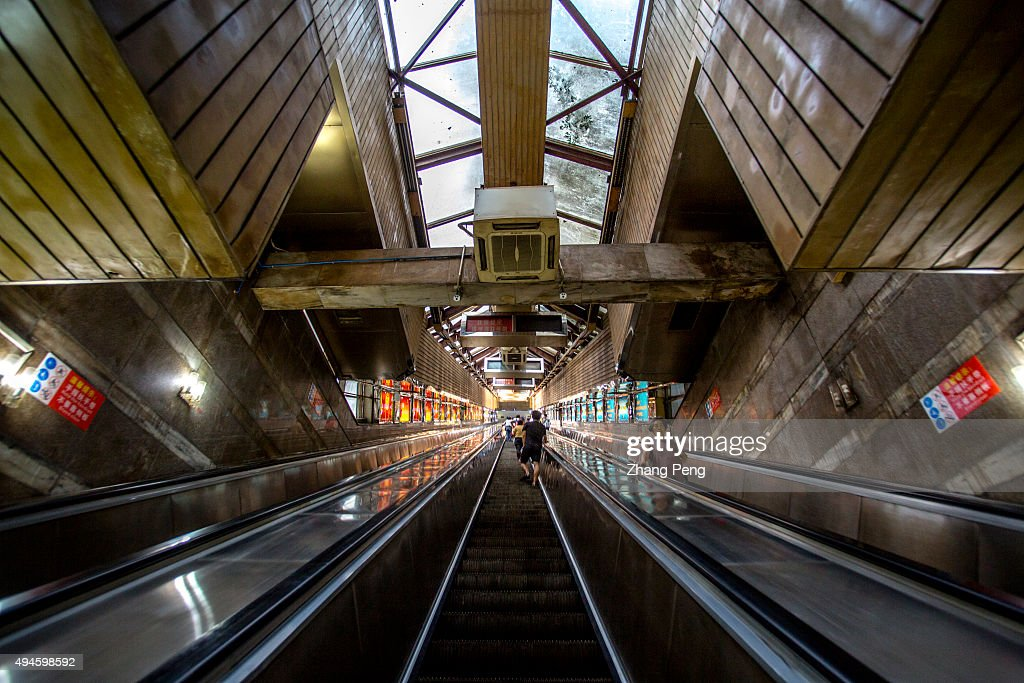 Caiyuanba Escalator the longest single escalator in Asia helps travelers climb the steep steps of hundreds of metres With a growth rate of 11 percent...