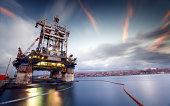 Cajun Express Oil Rig