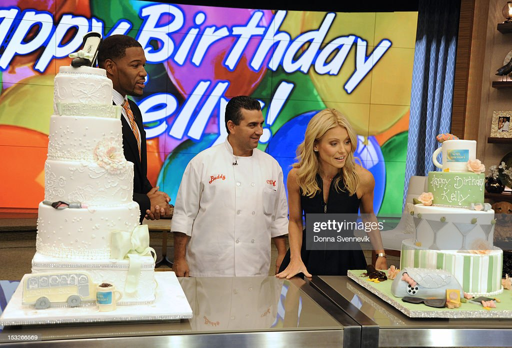 MICHAEL - 10/2/12 - Cake Boss Buddy Valastro appears on the newly-rechristened syndicated talk show, LIVE! with Kelly and Michael,' distributed by Disney-ABC Domestic Television. MICHAEL