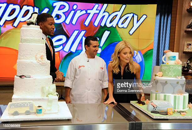 MICHAEL 10/2/12 Cake Boss Buddy Valastro appears on the newlyrechristened syndicated talk show LIVE with Kelly and Michael' distributed by DisneyABC...