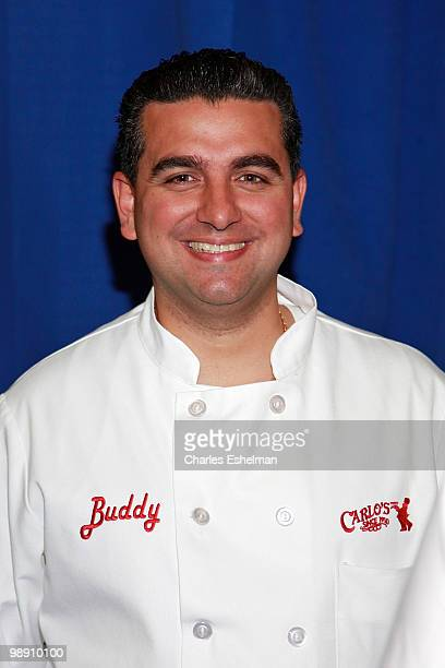 'Cake Boss' Buddy Valastro attends Amtrak's National Train Day celebration at Penn Station on May 7 2010 in New York City